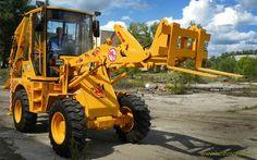 Furci buldoexcavator, încarcator frontal și tractor. La noi - echipamenteutilaje puteti gasi o multime de accesorii petru utilajul dumneavoastra. Contacteaza-ne ! Heavy Machinery, Tractors, Vehicles, Car, Vehicle, Tools