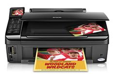 The Epson Stylus has a large flatbed scanner you can utilize to scan flat things and pages from bound books, something you can't make with a page-fed Portable Printer, Printer Driver, Bound Book, Best Christmas Gifts, Gifts For Teens, Stylus, Epson, Arcade, Improve Yourself