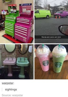 Seriously, Cosmo and Wanda. You're fooling no one. Tumblr Funny, Funny Memes, Jokes, Cosmo E Wanda, Cosmo And Wanda Costume, Funny Cute, The Funny, Fairly Odd Parents, Laugh Out Loud