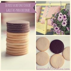 La Cocina de Carolina: Receta definitiva de galletas para decorar, infalible