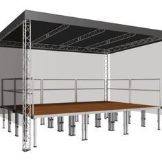 Overdekt podium | Product categorieën | PODIUM-VERHUUR.NL
