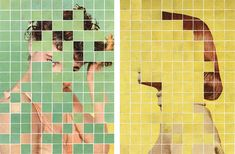 At first glance Anthony Gerace's collages look like orderly mosaics.