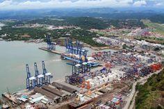 Principales puertos de Panamá