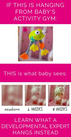 A simple activity gym hack to boost your newborn's development. PLUS learn more about your baby's development and how the gear and toys you choose impacts it. CanDoKiddo.com
