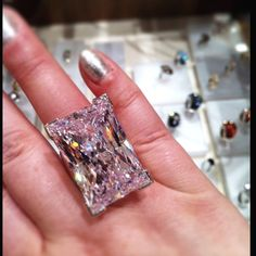 @Swarovski Moonshine Ring. HUGE ice, totally want!