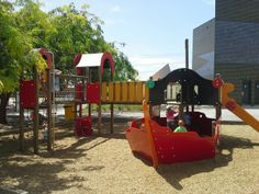 Playground at Scieneworks Spotswood
