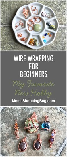 Wire wrapped jewelry diy - Wire Wrapping for Beginners – Wire wrapped jewelry diy Bijoux Wire Wrap, Wire Wrapped Jewelry, Beaded Jewelry, Silver Jewelry, Amber Jewelry, Diamond Jewelry, Silver Ring, Quartz Jewelry, Bling Jewelry