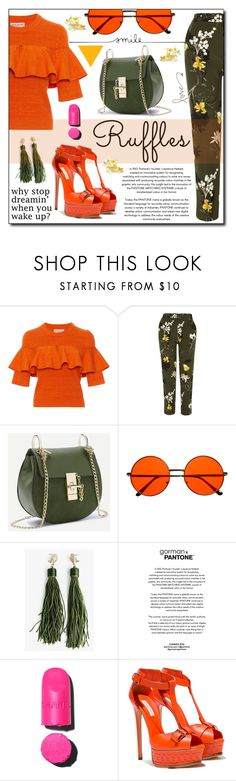 """""""Senza titolo #936"""" by francescar ❤ liked on Polyvore featuring Apiece Apart, River Island, INDIE HAIR, Chanel and Casadei"""