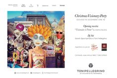 Christmas Visionary Party - TONIPELLEGRINO Catania - 15 Dicembre 2016