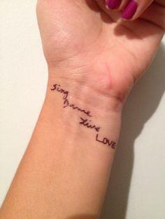 Sing, dance, live, love!!