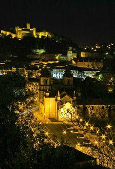 Leiria by night