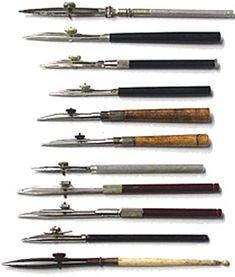 Museum of Forgotten Art Supplies - Ruling Pens - Pens