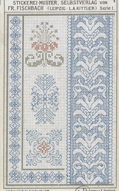 Resultado de imagen de stickerei-muster selbstverlag fr fischbach