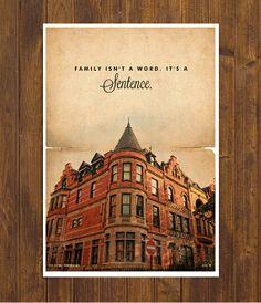 The Royal Tenenbaums - Wes Anderson Movie Poster - Vintage Style Magazine Retro Print Cinema Studio
