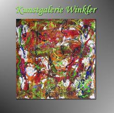 Acrylmalerei - Abstrakte Acrylbilder Leinwandbilder Unikat - ein Designerstück von A-Winkler bei DaWanda