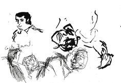 """Apunte: Soparillo 020   Apunte  """"Soparillo 020""""  Cena 020  Tinta y bolígrafo sobre papel  15 x 207 cm  2000  Tortosa  apuntes: soparillo libro 2000-08 / 2000-12"""