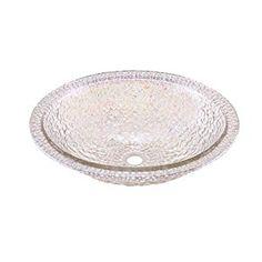 JSG Oceana 007-307-300 Pebble Undermount/Drop-In Combination Sink, Crystal Reflections - Vessel Sinks - AmazonSmile