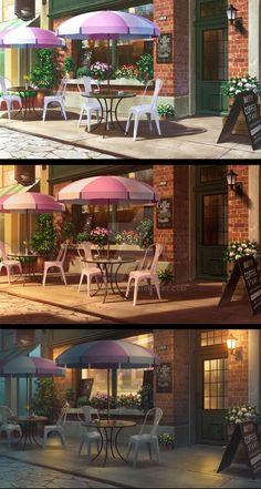 Commission by andanguyen on DeviantArt Scenery Background, Video Background, Animation Background, Episode Interactive Backgrounds, Episode Backgrounds, Anime Backgrounds Wallpapers, Anime Scenery Wallpaper, Casa Anime, Desenhos Love