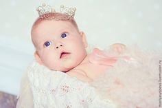 Купить Корона для самой сладкой принцессы - серебряный, корона, подарок, украшение, фотосессия, аксессуар для фотосессии