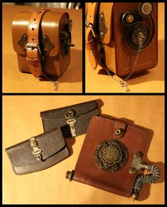 Steampunk purse for all your Ha'pennies and Shillings