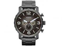 Relógio Masculino Fossil FJR1437/Z - Analógico Resistente à Água Cronógrafo Calendário com as melhores condições você encontra no Magazine Edmilson07. Confira!