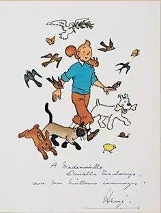 Tintin // oh my god he's a Disney princess