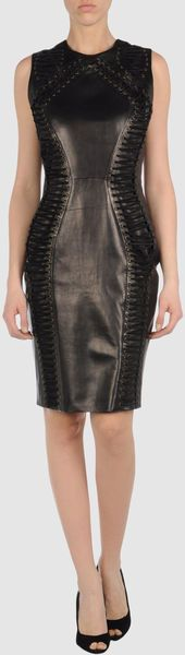 Trussardi F/W 2011 Leather Dress