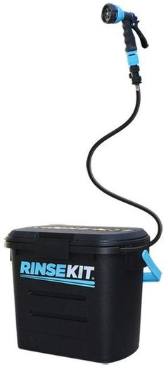 RinseKit | Pressurized Portable Shower System