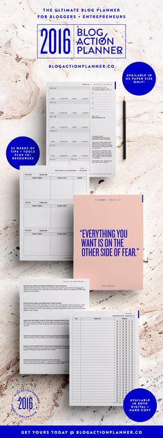 looking for a printable blog planner the blog action planner is more than your