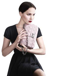 Jennifer Lawrence #dior #handbags