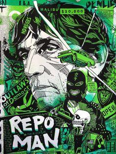 Tyler Stout - Repo Man (GID Variant)
