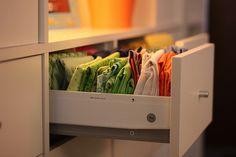 Sewing Studio Using Ikea Expedit Shelving Units & Insert Drawers | Flickr - Photo Sharing!