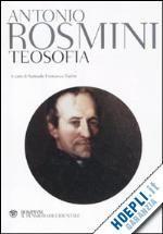 Prezzi e Sconti: #Teosofia  ad Euro 50.00 in #Filosofia testi e studi #Bompiani