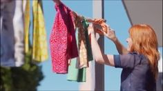 Fabric bunting was a shot featured in Greytown Village Heaven's winter 2017 video