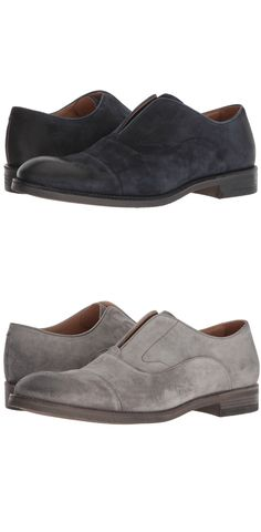 Cut ties.  Free yourself to be fascinating by stepping into a leading role with the easy elegance of the #JohnVarvatos #Collection Varick #Oxford. #men #footwear #shoes