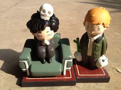 BBC Sherlock minis - Yes. Never saw John before. HE's CARRYING MILK!!!! i want this so bad