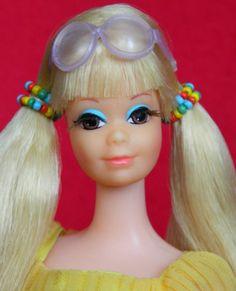 Barbie's best friend P. was introduced in 1969 as New 'n Groovy Talking P. I'm Barbie's best friend P. Vintage Barbie, Live Action, Barbie Dolls, Best Friends, Lemon, Beat Friends, Bestfriends, Barbie Doll, Bffs