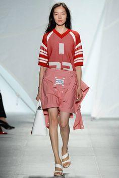 New York Fashion Week Spring/Summer 2015 Day 3 Recap   Prabal Gurung, Lacoste, Herve Leger + More