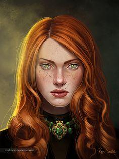 Anna Ros-Kovac Velaryon, tem 20 anos. Parte dos Nobres, Anna se casou em 426 com o Conde Frederic Ros-Kovac, dos domínios arcanos de Karnosea. Ranking 2