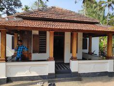 Village House Design, House Front Design, Village Houses, Kerala Traditional House, Traditional House Plans, Indian Home Design, Kerala House Design, Indian House Plans, Dream House Plans