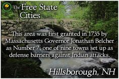Visit Hillsborough, New Hampshire at The Free State! http://www.freestatenh.org/encyclopedia/cities/hillsborough