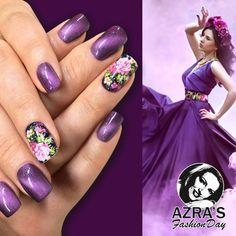 "Azra's Fashion Day: Nailart mit fantastischem Cat's-Eye Effect! Nailart ""mystical dance"""