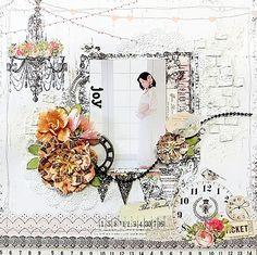 joy - My Creative Scarp Book May LImited Edition Kit