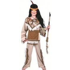 Déguisement indien sioux garçon luxe, carnaval, déguisements enfant pas chère, anniversaire, western, fêtes