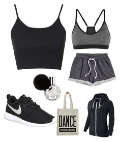 """Running/ Jogging"" by larissa-bens on Polyvore featuring mode, H&M, Topshop, NIKE, ALPHABET BAGS, women's clothing, women, female, woman en misses"