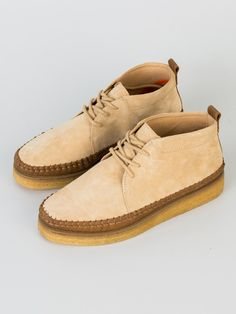 POINTER KARL LEATHER BOOT SAND - Pointer - Footwear - Xile