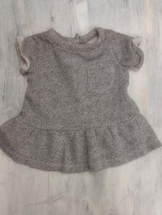Baby Gap Gray Sweater Tunic - 3-6M