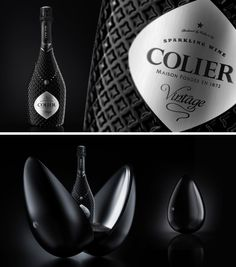 Colier Sparkling Wine #winelable