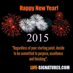 The Top 3 Commitments For 2015   Life Signatures
