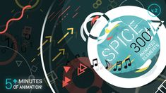 spice 300 animated elements
